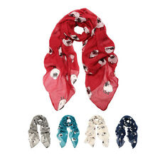 Fashion Women Scarf Sheep Animal Print Scarf Shawl Neck Voile Wrap Scarves Stole