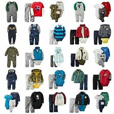 NWT Carters $96-$120 Lot Infant Boy Fall Winter Outfits Sets ALL SIZES ~ CHOOSE