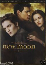 The Twilight Saga: New Moon (DVD, 2010, 3-Disc Set, Deluxe Edition)