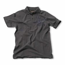 KTM MENS GREY GRINDED POLO SHIRT SMALL, MEDIUM