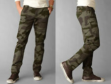Dockers Pants Slim Fit Alpha Khaki Camo tapered olive cotton CHINOS MEN 34 32