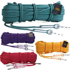 20KN 10.5mm Nylon Rope Outdoor Sports Climbing Rope quickdraw Sling Cords 2000KG