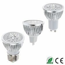 12W MR16/E27/GU10 4x3W (4Leds)LED light Spot Lamp Warm Cool White Downlight bulb