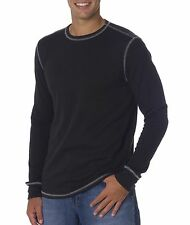 Bella+Canvas Men's Thermal Long-Sleeve Solid Cotton/ Poly T-Shirt C3500