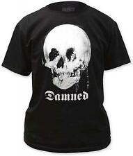 The Damned Mirror Skull T-Shirt SM, MD, LG, XL, XXL New