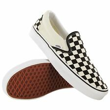 Vans Shoes Slip On Checker Board Black White Free Post Aust Seller Skate Classic