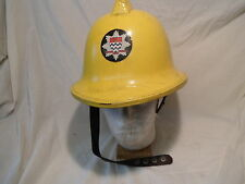 Old Yellow London Fire Brigade Helmet
