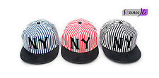 2016 new style striped adult baseball cap hip-hop along the flat hat wholesale