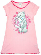 Girls Nightdress Huggable Nightie Tatty Teddy Bear Me to You Official 2-8 Years