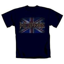 DEF LEPPARD - VINTAGE UNION JACK - OFFICIAL MENS T SHIRT