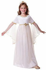 GIRLS CHILDS ANGEL CHRISTMAS NATIVITY FANCY DRESS COSTUME OUTFIT NEW 4 6 8 10