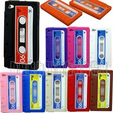 for ipod touch 4TH 4 TH GEN itouch cassette tape soft pink black red orange\