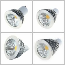 New GU10 MR16 LED Light Bulbs SMD COB Lamp Spot Spotlight Cool Warm White light
