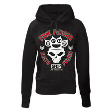 FIVE FINGER DEATH PUNCH - KNUCKLE CROWN - OFFICIAL WOMENS HOODIE