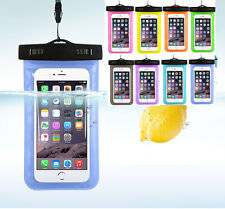 Fashion Waterproof Underwater Pouch Dry Bag Case Cover For iPhone Touchscreen