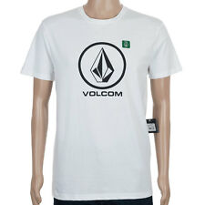 SP Volcom T-Shirt Circle Stone White skate