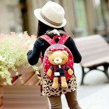 Cute Baby Kid Toddler Keeper Walking Safety Harness Bag 2 Backpack Leash Strap