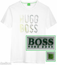 NWT Hugo Boss Green Label By Hugo Boss LOGO T-Shirt in White Size XL