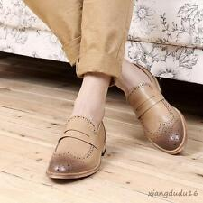 Men' fashion dress formal brogue wing tip business slip on loafers casual shoes