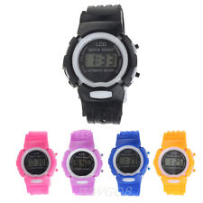 Fashion Children Watch Electronic Digital LCD Watch Students Sport Wrist Watches