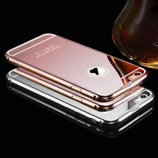 Luxury Aluminum Ultra Thin Mirror Metal Case For IPhone 6,6S / 6,6S Plus Models