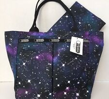 NWT LeSportsac Small EveryGirl Tote Bag Outter Limits  Pouch $68