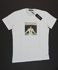 DOLCE&GABBANA Men Iconic 'Bryan Ferry' Crew-neck Graphic T-Shirts NEW NWT