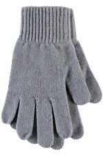 Ladies 1 Pair SockShop of London Made In Scotland 100% Cashmere Plain Gloves In