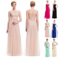 Cheap Tulle Summer Cocktail Formal Party Bridesmaid Dresses Long Bridesmaid Prom