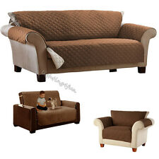 1 2 3 Seater Slip Over Couch Settee Sofa Cover Pet Protector Throw Chair Mat New
