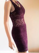 Womens Sexy Lace Dress  Brand New Au 8-10 Party Evening Clubbing Formal