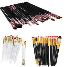 Kabuki Cosmetic Eye Make up Brush Set 20Pcs Eyeshadow Eyeliner Eyelash Lip Wands