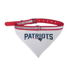 New England Patriots Bandana Dog Collar Officially Licensed NFL Products
