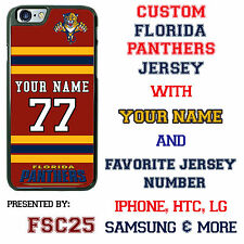 New FLORIDA PANTHERS Hockey Jersey phone Case Cover for iPhone 6 6 PLUS 5 5c 4