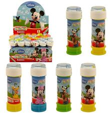 Disney Mickey Mouse Bubbles Bubble Tubs Party Bag Toys Clubhouse Parties Maze
