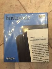 Amazon Kindle Oasis Wi-Fi 6in with Leather Charging Cover In Stock