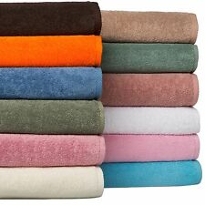 8 Cotton Bath Towels Set Shower Spa Large Bath Sheets Body Face Hand Towel Sets