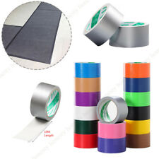 50mm x10M Waterproof Adhesive Sticky Cloth Duct Tape Roll Craft Repair 15 Colors