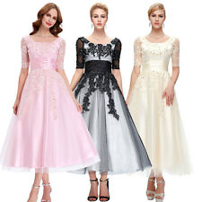 Elegant Ladies Long Formal Party Homecoming Dress Evening Cocktail Wedding Gowns