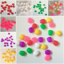 Pop Up Corn 6 Colours Carp Fishing Rubber Plastic Bait Floating Pink Yellow Red