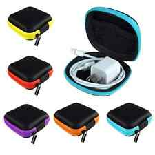 For Earphone Headphone Earbuds SD/TF Cards Mini Storage Bag Pouch Hard Case Box