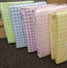 NEW Company Kids Yellow, Green, Pink, Blue,Gingham Comforter Covers, Bed Sheets