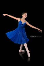 Lyrical Ballet Dress: Mood, Royal Blue Dance Costume, Girls Costume, Australia,