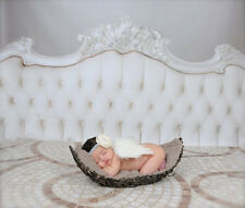 White Prop Outfits Costume Girls Boys Newborn Photo Photography Angel Wings Baby