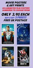 Movie Poster Collection 1/Wall Art:Laminated:A4:!!!!!!Buy 2 Get 3 FREE!!!!!!!!!!