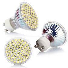 White High Lamp Bulb Power Spot Light 6500K HOT GU10 220V 60 LED 3528 SMD 5W