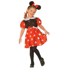 Small Mouse Costume Minnie Childrens Fancy Dress Little Girl Outfit