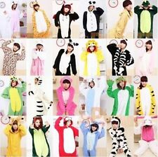 Adult Unisex Onesie Pajamas Lovely Cosplay Costume Animal Kigurumi Dress S-XL-01
