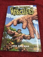 The Incredible Hercules Love And War Marvel Premiere Graphic Novel
