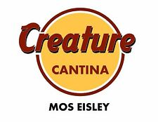 Men's T Shirt: Star Wars: Creature Cantina Mos Eisley Cafe Parody